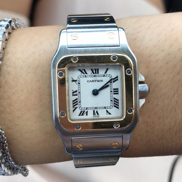 494837b17 Cartier Accessories   Santos De Galbee Automatic Xl   Poshmark